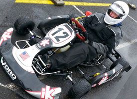 iKart Dominates in the wet