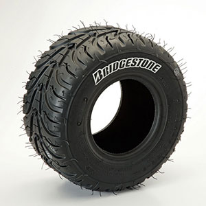 Bridgestone YLP rain tire (wet), kart racing