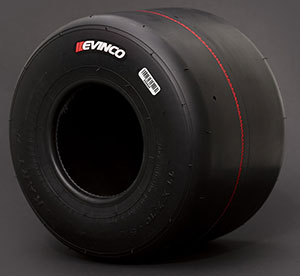 Evinco Reds kart racing tires