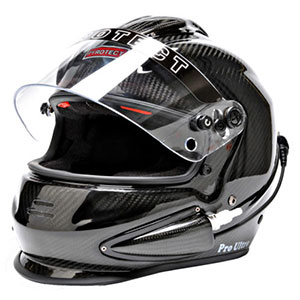 Pyrotect Lightweight Carbon Fiber Helmet with forced air