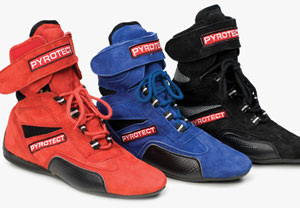 Pyrotect Racing Shoes, SFI certified