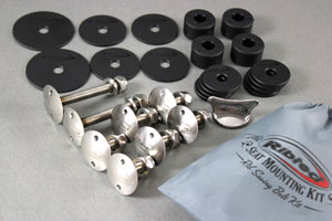 Kart Seat Mounting Hardware Kit