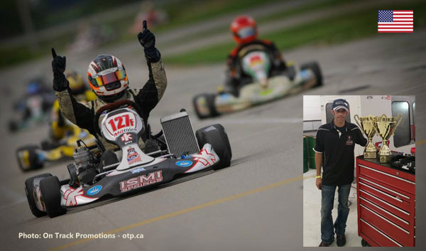 SKUSA SuperKarts! USA SummerNationals winner