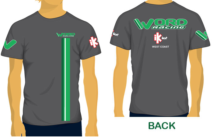 WORD Racing Team Shirts!